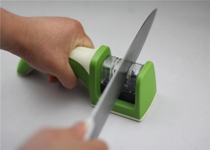 Commercial Coarse And Fine Knife Sharpener For Metal Knife And Ceramic Knives