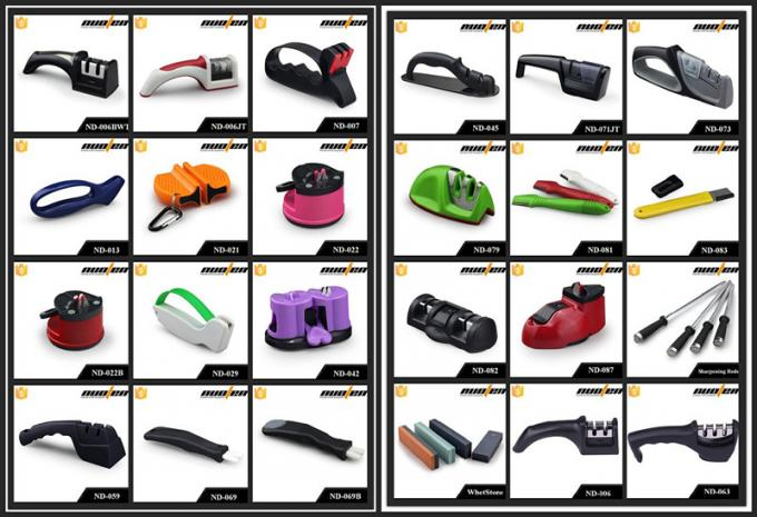 Customized Color Outdoor Knife Sharpener Carbon Steel For Birthday Gift