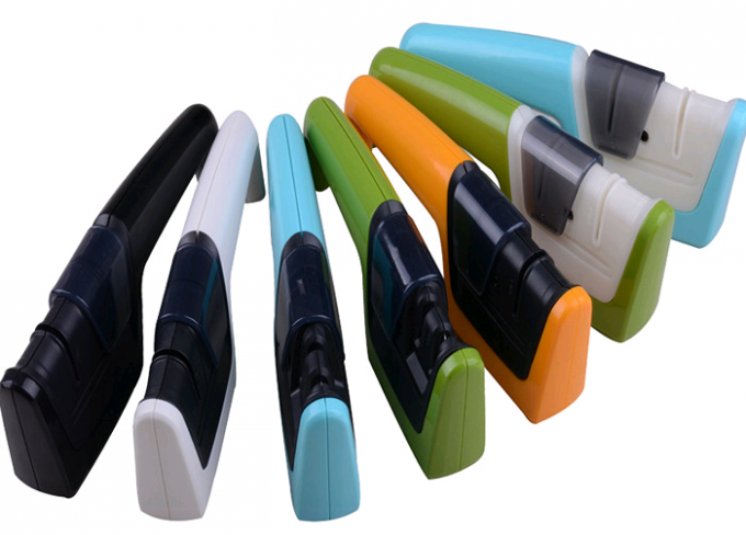 Eco - Friendly Ceramic Steel Knife Sharpener With Two Stage For Kitchen