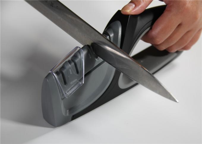 Precision Edge 4 Stage Knife Sharpener With PC Or ABS Alloy And Ceramic Blade