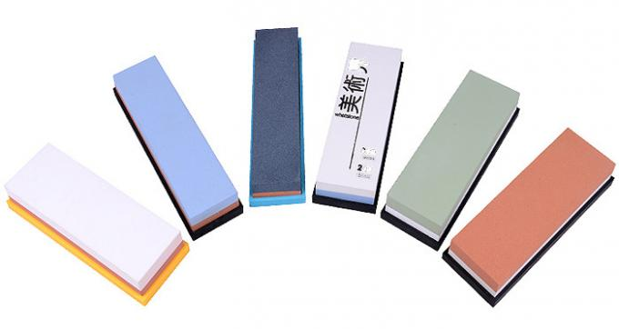 Coarse Fine Whetstone Sharpening Stone , Double Sided Diamond Sharpening Stone