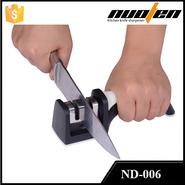 Exquisite Handle Knife Sharpener , Easy Sharp Manual Knife Sharpener With TUV Passed