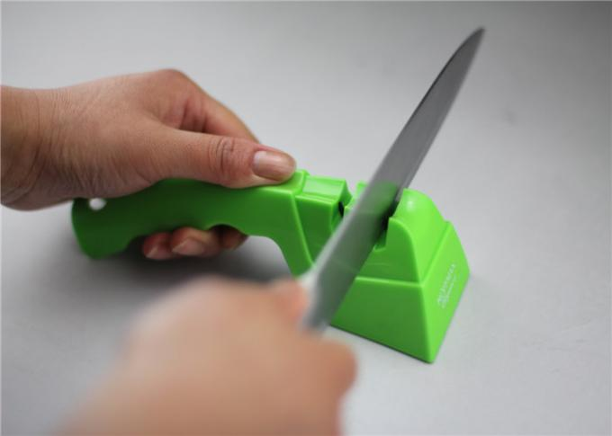 Small Camping Knife Sharpener , Multi Sharp Knife And Scissor Sharpener