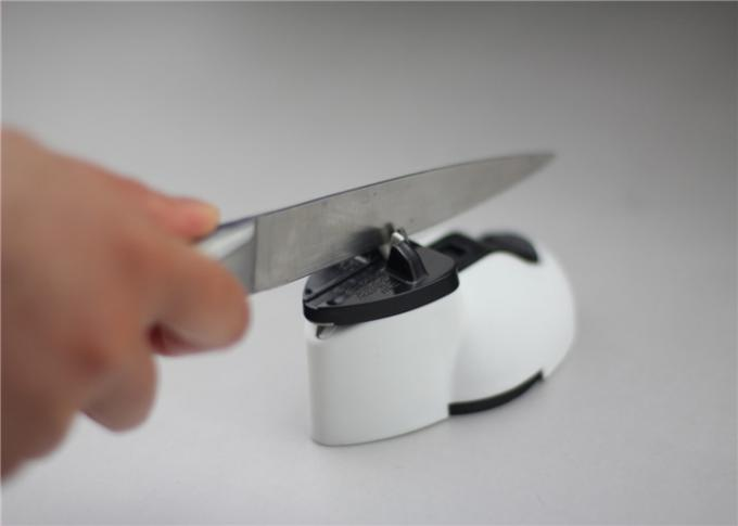Small Tungsten Carbide Knife Sharpener With Suction Pad , Easy Sharp Knife Sharpener
