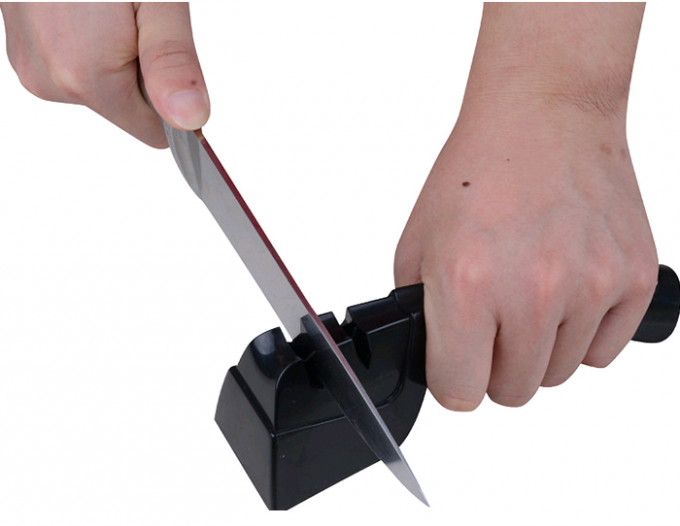70g ABS Tungsten Blade Household Knife Sharpener 103*60*65mm As Seen On TV
