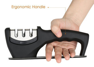 China Professional Portable Ceramic Knife Sharpener Stainless Steel Kitchen Tools supplier