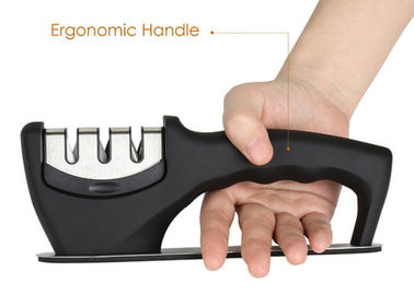 Professional Portable Ceramic Knife Sharpener Stainless Steel Kitchen Tools