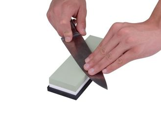 China Multi - Colored Whetstone Chef Knife Sharpening Stone With Customized Logo supplier