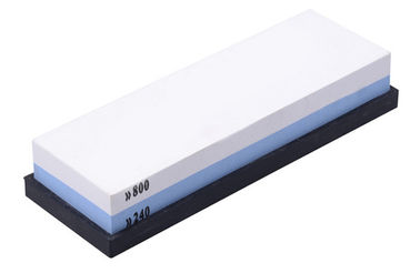 High Efficiency Whetstone Sharpening Stone For 800 / 240 Grit , 180 * 60 * 27mm With Dinas