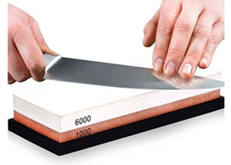 China 1000 6000 Grit Whetstone Sharpening Stone 7 Inch Corundum Waterstone Knife supplier