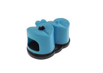China Soft Touch Household Knife Sharpener With Suction Cup , Ultimate Private labeling supplier