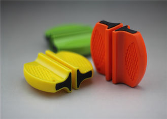 China Mini Size Outdoor Knife Sharpener With Tungsten Blade And Ceramic Rod supplier