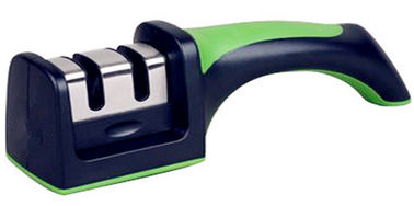 Household Two Step Knife Sharpener , Garden Knife Sharpener With Preset Sharpening Angle