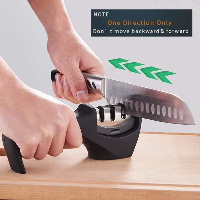 Lightweight Handheld Knife Sharpener Compact Structure Eco - Friendly